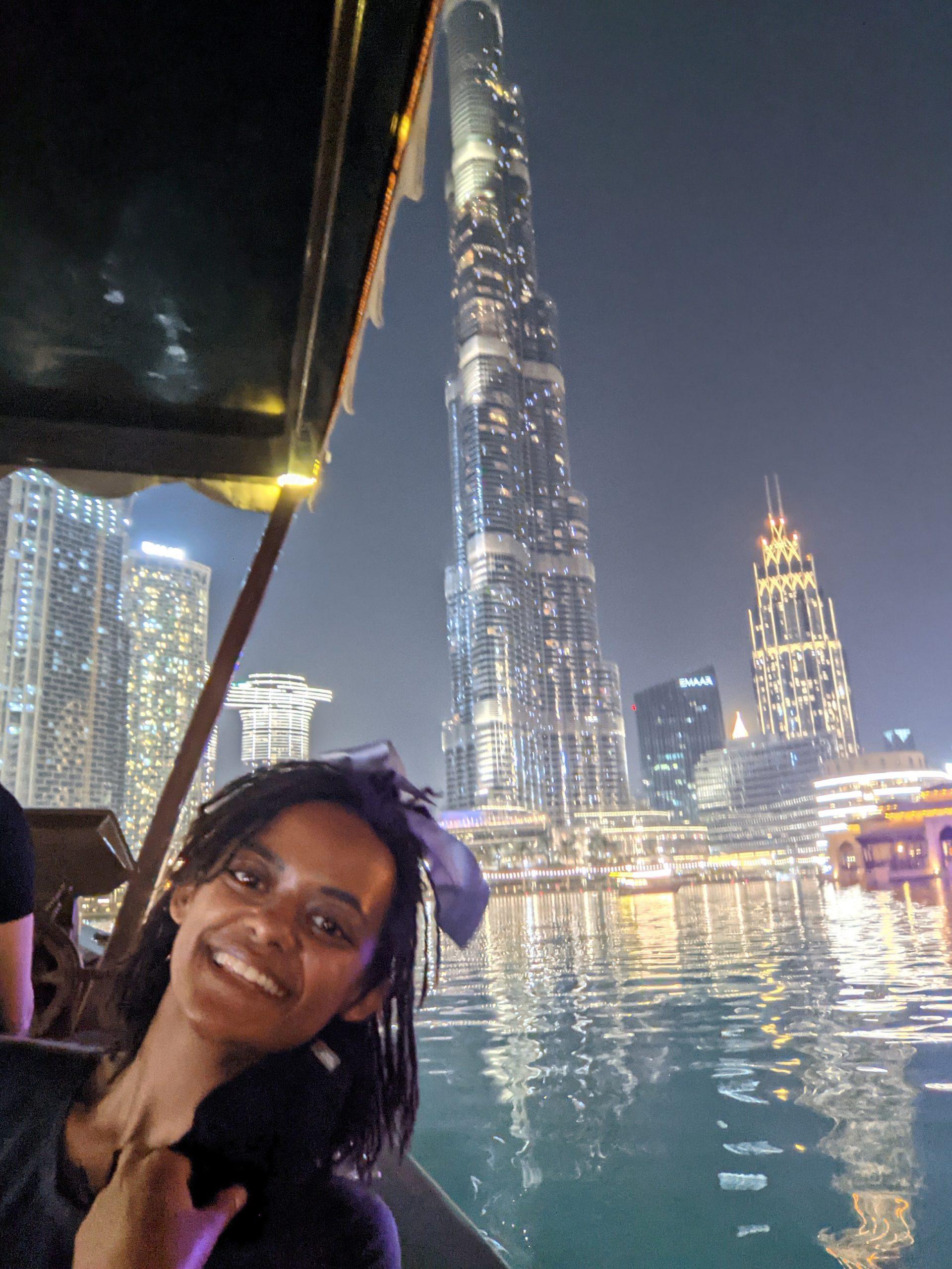 An overnight layover in Dubai